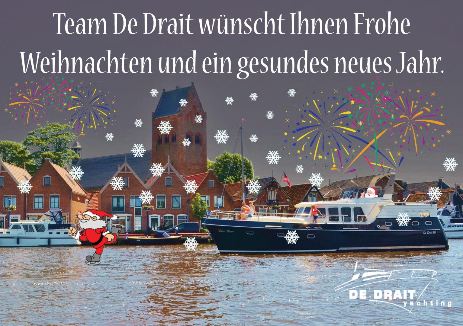 Frohe Weihnachten Und Gesundes Neues Jahr.Team De Drait Wunscht Ihnen Frohe Weihnachten Und Ein